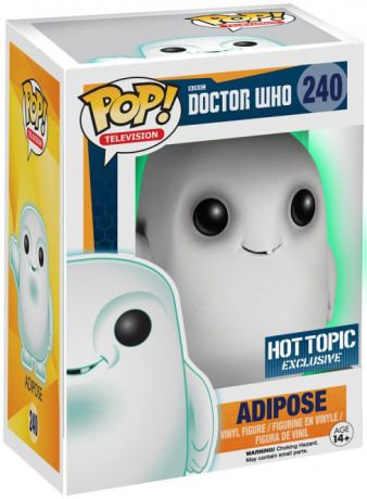 Figurine Funko Pop Doctor Who #240 Adipose - Brillant dans le noir
