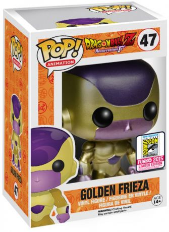 Figurine Funko Pop Dragon Ball #47 Golden Freezer - Yeux Noirs - Métallique Or (DBZ)