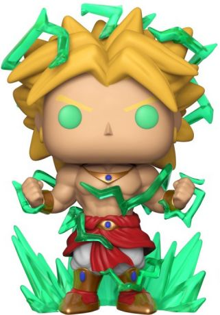 Figurine Funko Pop Dragon Ball #623 Broly - 15 cm & Brillant dans le noir [Chase]