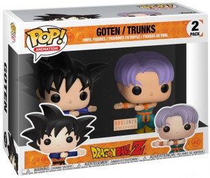 Figurine Pop Dragon Ball  Goten & Trunks - 2 Pack / Dragon Ball Z pas chère