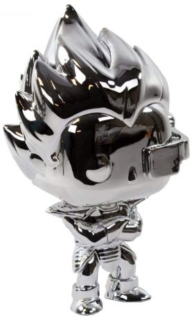 Figurine Funko Pop Dragon Ball #10 Vegeta - Silver Chrome (DBZ)