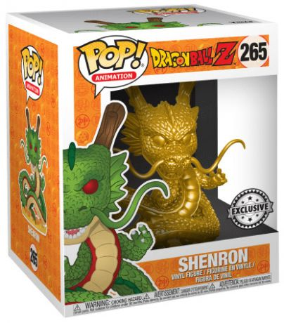 Figurine Funko Pop Dragon Ball #265 Shenron -  15 cm & Or (DBZ)