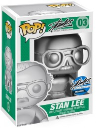 Figurine Funko Pop Stan Lee #3 Stan Lee - Argent