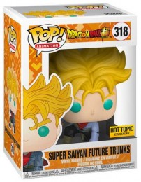 Figurine Pop Dragon Ball #318 Super Saiyan Trunks du futur / Drabon Ball Super pas chère