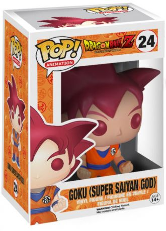 Figurine Funko Pop Dragon Ball #24 Goku - Super Saiyan God (DBZ)