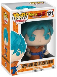 Figurine Pop Dragon Ball #121 Super Saiyan God Super Saiyan Goku / DBZ pas chère