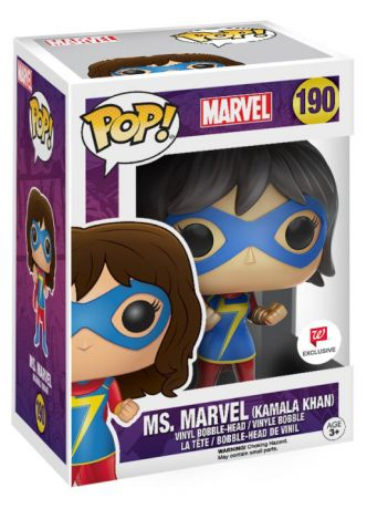 Figurine Funko Pop Marvel Comics #190 Ms Marvel Kamala Khan