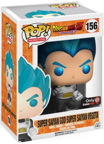 Figurine Funko Pop Dragon Ball #156 Super Saiyan God Super Saiyan Vegeta - Metallic (DBZ)