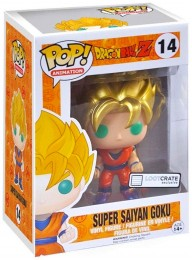 Figurine Pop Dragon Ball #14 Super Saiyan Goku - Metallic / Dragon Ball Z pas chère