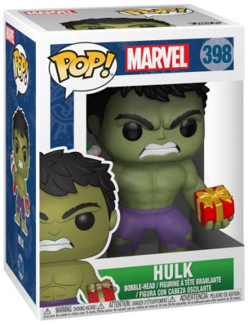 Figurine Funko Pop Marvel Comics #398 Hulk vacances