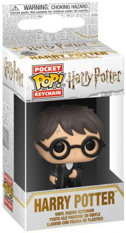 Figurine Funko Pop Harry Potter #00 Harry Potter bal de Noël - Porte-clés