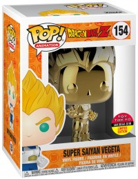 Figurine Pop Dragon Ball #154 Super Saiyan Vegeta - Gold Chrome / Dragon Ball Z pas chère