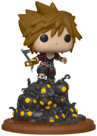 Figurine Funko Pop Kingdom Hearts #55 Sora escaladant une vague de sans-coeurs