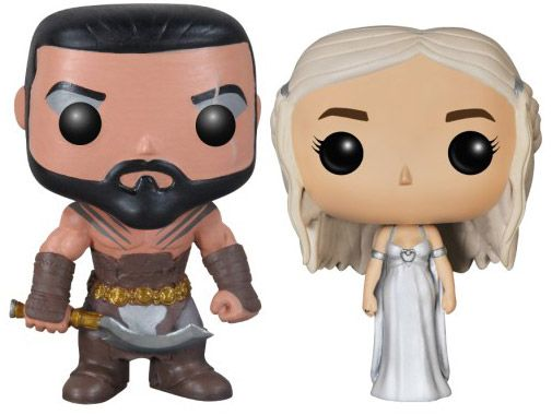 Figurine Funko Pop Game of Thrones #00 Khal & Khaleesi - 2 Pack
