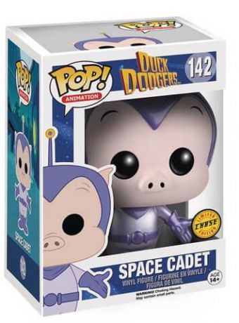 Figurine Funko Pop Looney Tunes #142 Space Cadet - Métallique [Chase]