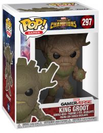 Figurine Funko Pop Tournois des Champions [Marvel] #297 Roi Groot