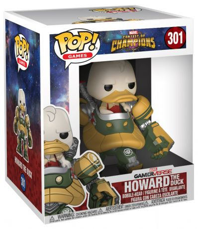 Figurine Funko Pop Tournois des Champions [Marvel] #301 Howard le canard en costume machine -15 cm