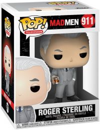 Figurine Funko Pop Mad Men #911 Roger Sterling