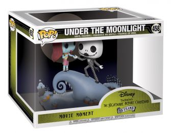 Figurine Funko Pop L'étrange Noël de M. Jack [Disney] #458 Jack Skellington avec Sally - Movie Moments