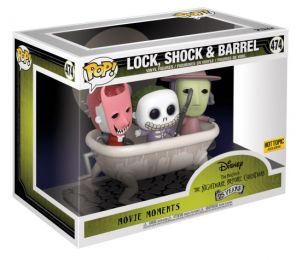 Figurine Funko Pop L'étrange Noël de M. Jack [Disney] #474 Lock, Shock & Barrel - Movie moments