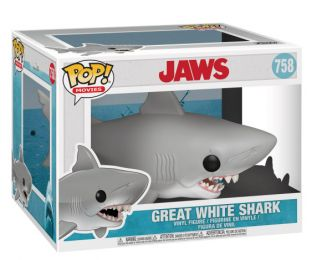 Figurine Funko Pop Les Dents de la Mer #758 Grand requin blanc - 15 cm