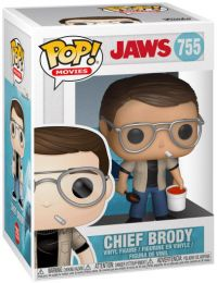 Figurine Funko Pop Les Dents de la Mer #755 Chef Brody