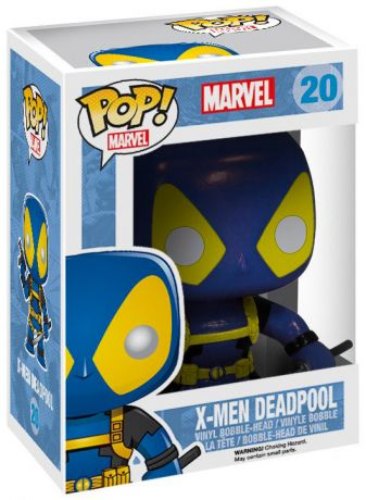 Figurine Funko Pop Deadpool [Marvel] #20 X-Men Deadpool - Bleu