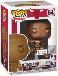 Figurine Funko Pop NBA #54 Michael Jordan - Bronze