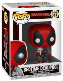Figurine Funko Pop Deadpool [Marvel] #327 Deadpool à l'heure du coucher - Pyjama
