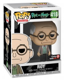 Figurine Funko Pop Rick et Morty #418 Roy