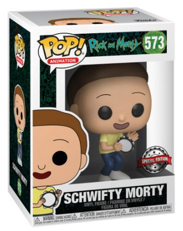 Figurine Funko Pop Rick et Morty #573 Schwifty Morty