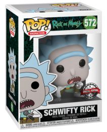 Figurine Funko Pop Rick et Morty #572 Schwifty Rick