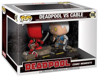 Figurine Funko Pop Deadpool [Marvel] #318 Deadpool contre Cable