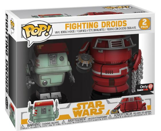 Figurine Funko Pop Solo : A Star Wars Story #00 W1 - Fight Droids - 2 pack