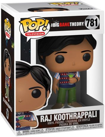 Figurine Funko Pop The Big Bang Theory #781 Raj Koothrappali