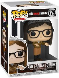 Figurine Funko Pop The Big Bang Theory #779 Amy Farrah Fowler avec une couronne