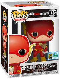 Figurine Funko Pop The Big Bang Theory #833 Sheldon Cooper déguisé en Flash