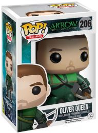 Figurine Pop Arrow [DC] #206 Oliver Queen pas chère