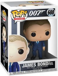 Figurine Funko Pop James Bond 007 #688 James Bond - Quantum of Solace