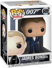 Figurine Funko Pop James Bond 007 #689 James Bond - Casino Royale