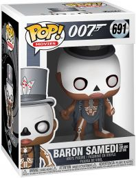 Figurine Funko Pop James Bond 007 #691 Baron Samedi - Live and Let Die