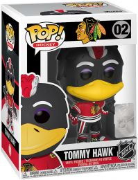 Figurine Funko Pop NHL Mascottes  #2 Blackhawks - Tommy Hawk