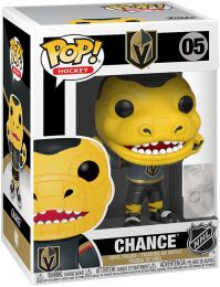 Figurine Funko Pop NHL Mascottes  #5 Knights - Chance the Gila Monster