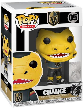 Figurine Funko Pop NHL Mascottes  #05 Knights - Chance the Gila Monster