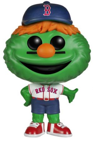 Figurine Funko Pop MLB : Ligue Majeure de Baseball #07 Wally le Monstre Vert