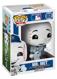 Figurine Funko Pop MLB : Ligue Majeure de Baseball #2 M. Met