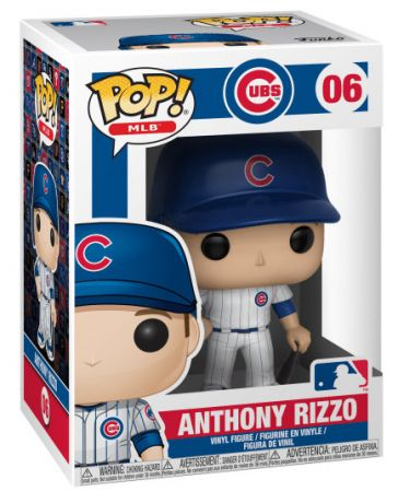 Figurine Funko Pop MLB : Ligue Majeure de Baseball #06 Anthony Rizzo