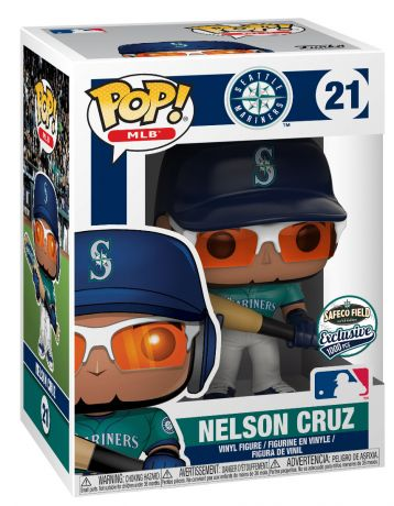 Figurine Funko Pop MLB : Ligue Majeure de Baseball #21 Nelson Cruz