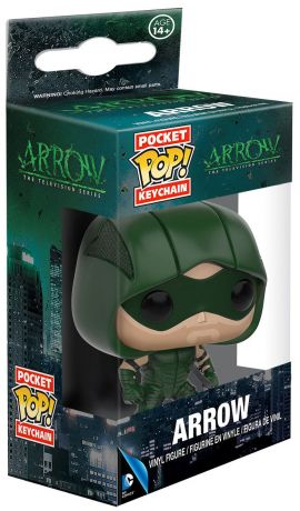 Figurine Funko Pop Arrow [DC] #00 Arrow - Porte-clés