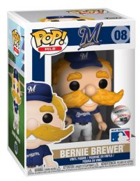 Figurine Funko Pop MLB : Ligue Majeure de Baseball #8 Bernie Brewer